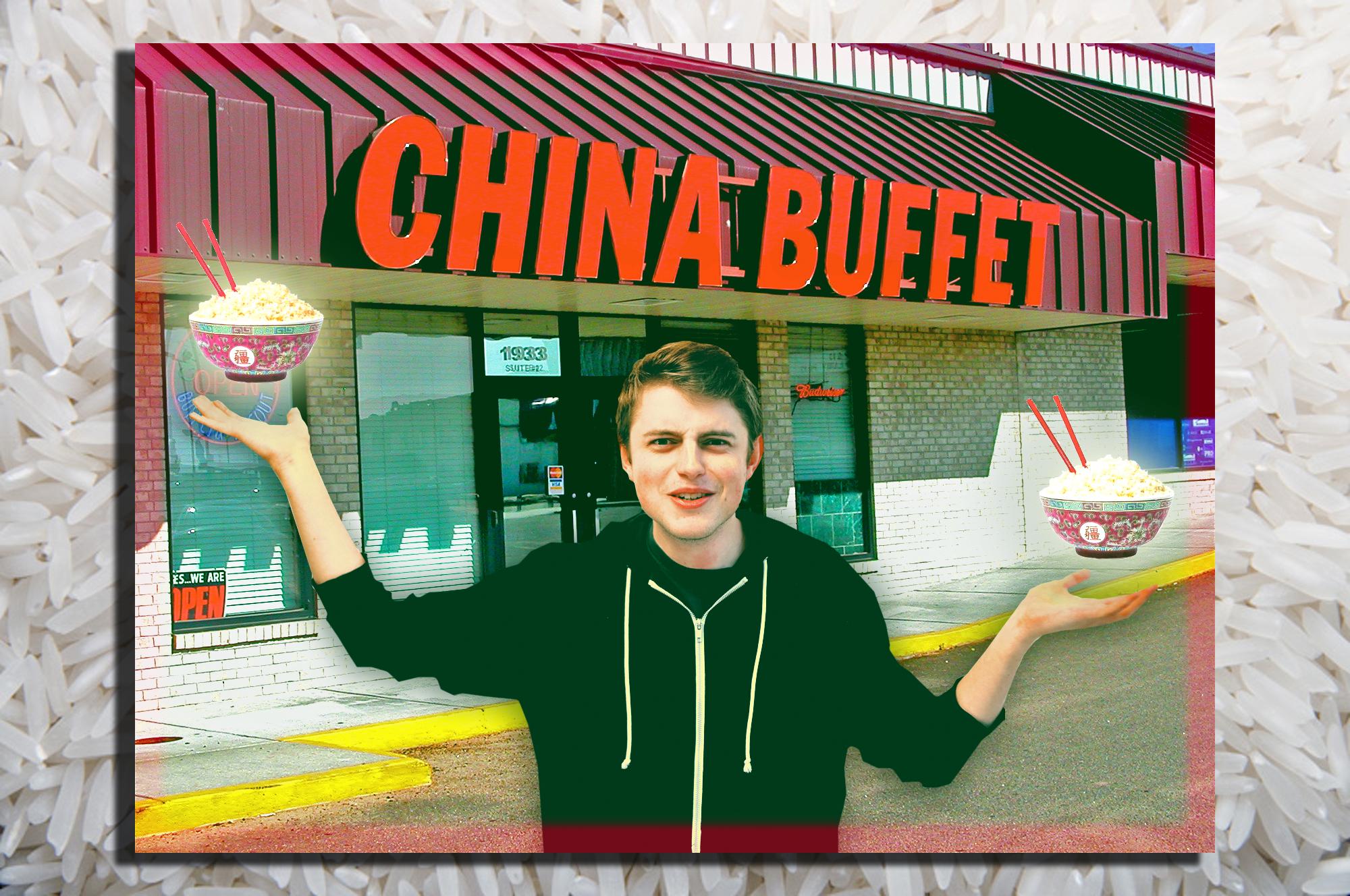 Rafael vs. rýže. Čína