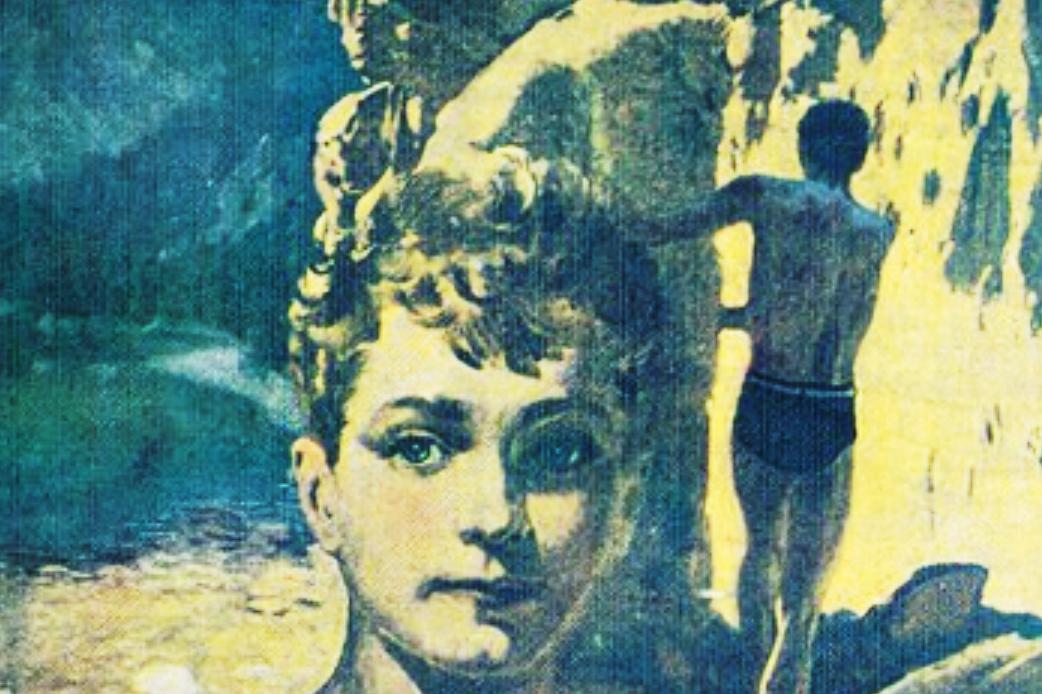 Z přebalu knihy Chata v jezerní kotlině Jaroslava Foglara, 1. knižní vydání