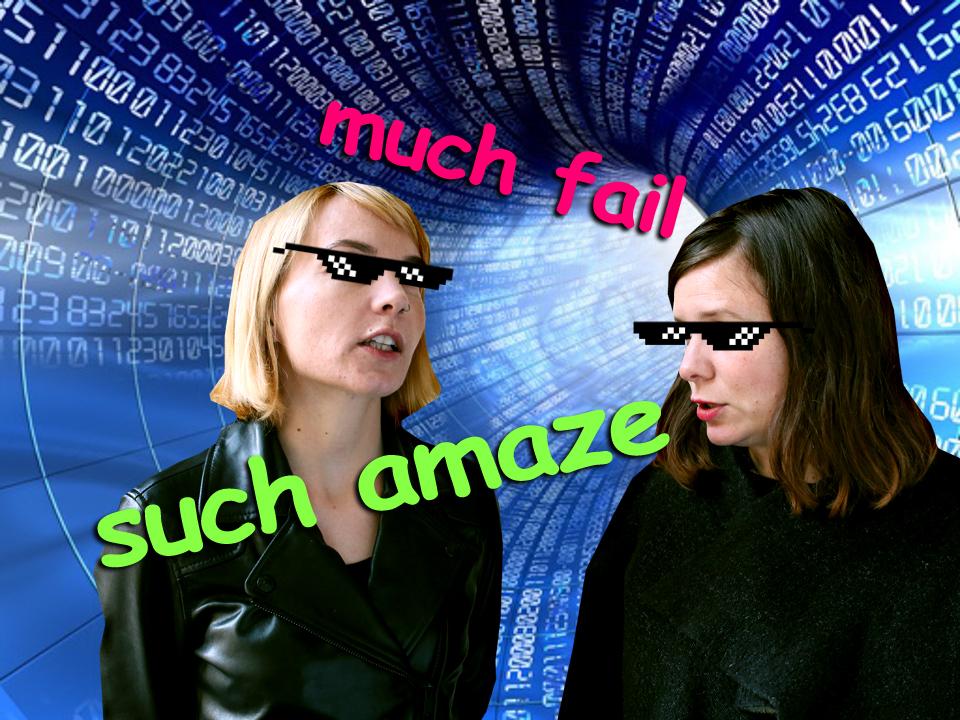 Ivana Veselková a Zuzana Fuksová radí, jak se neztrapnit na internetu