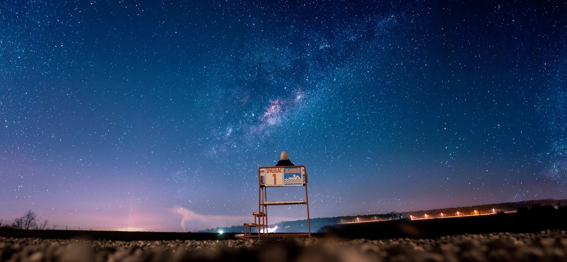 vesmír - pozorování vesmíru - hvězdy