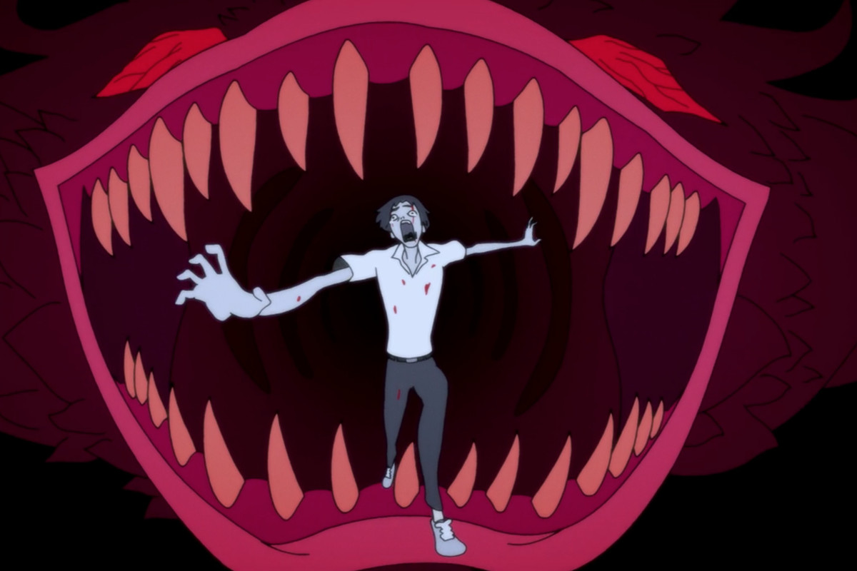 ze seriálu Devilman: Crybaby