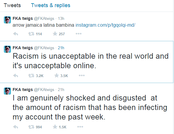 Online rasismus
