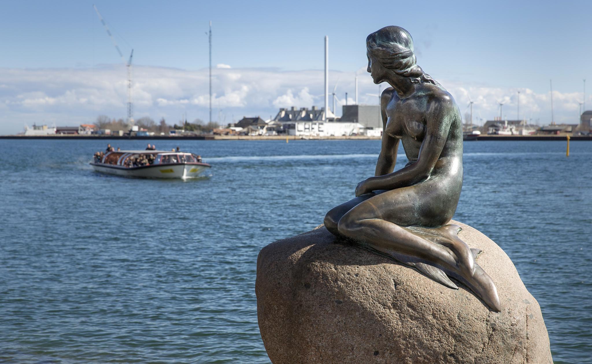 Kodaň a její symbol - Malá mořská víla | ESO plavby