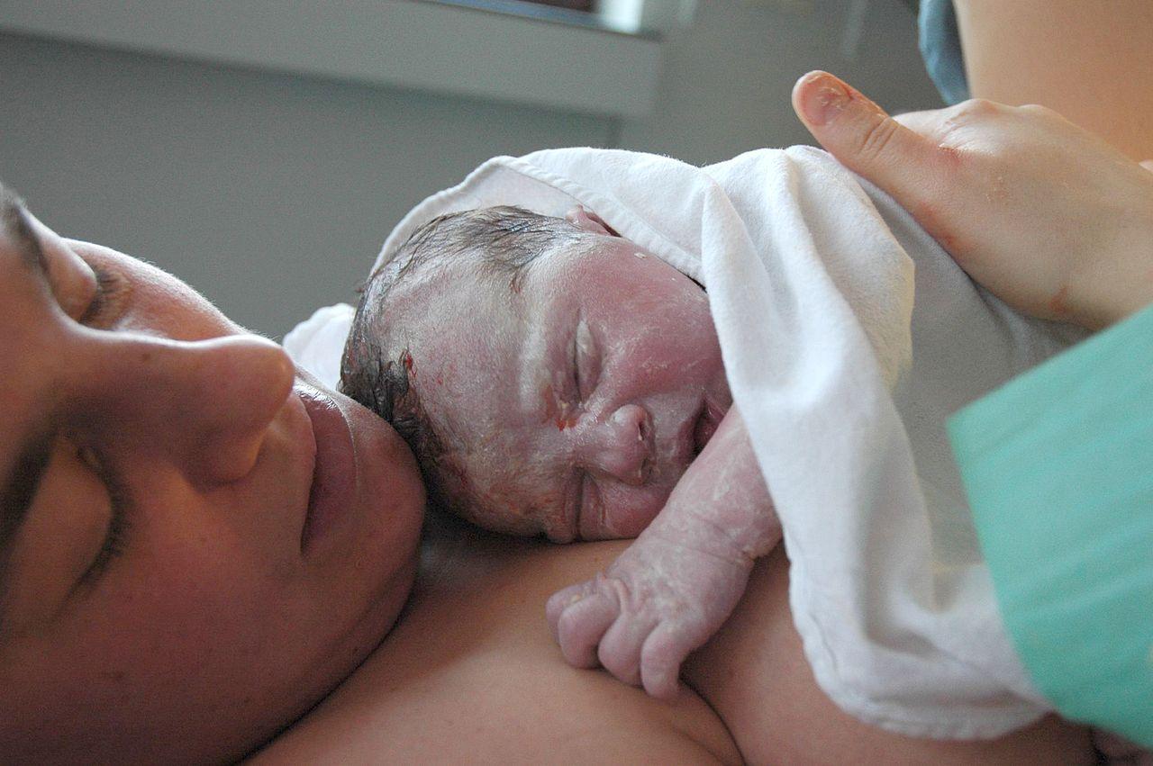 Porod, novorozenec