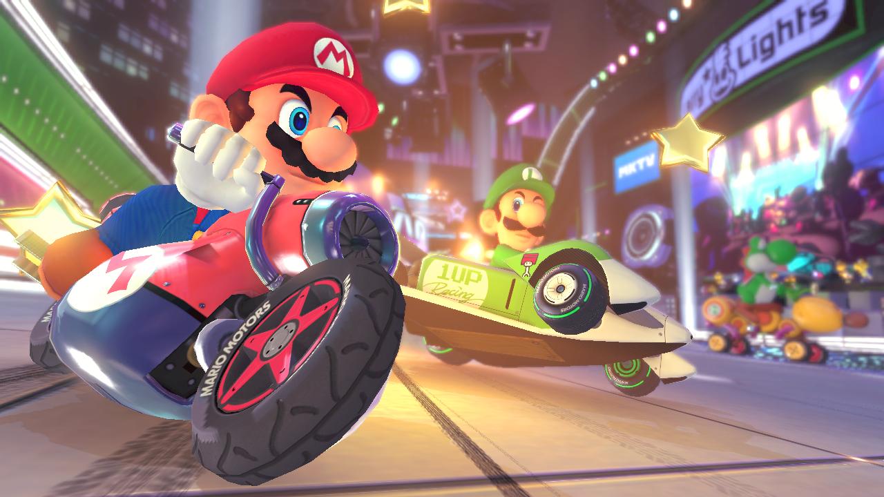 Ze hry Mario Kart 8 Deluxe