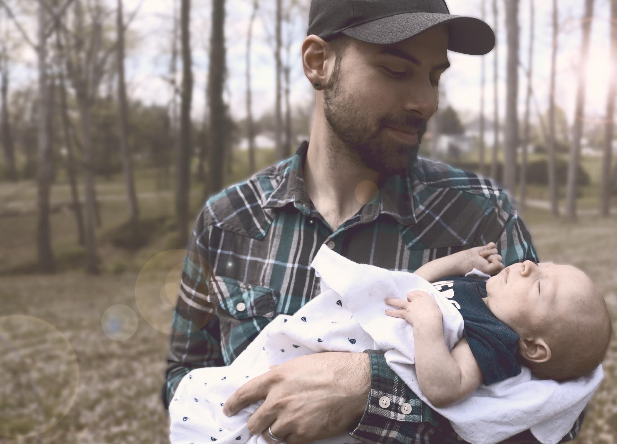 otec s dítětem - rodičovství - rodiče