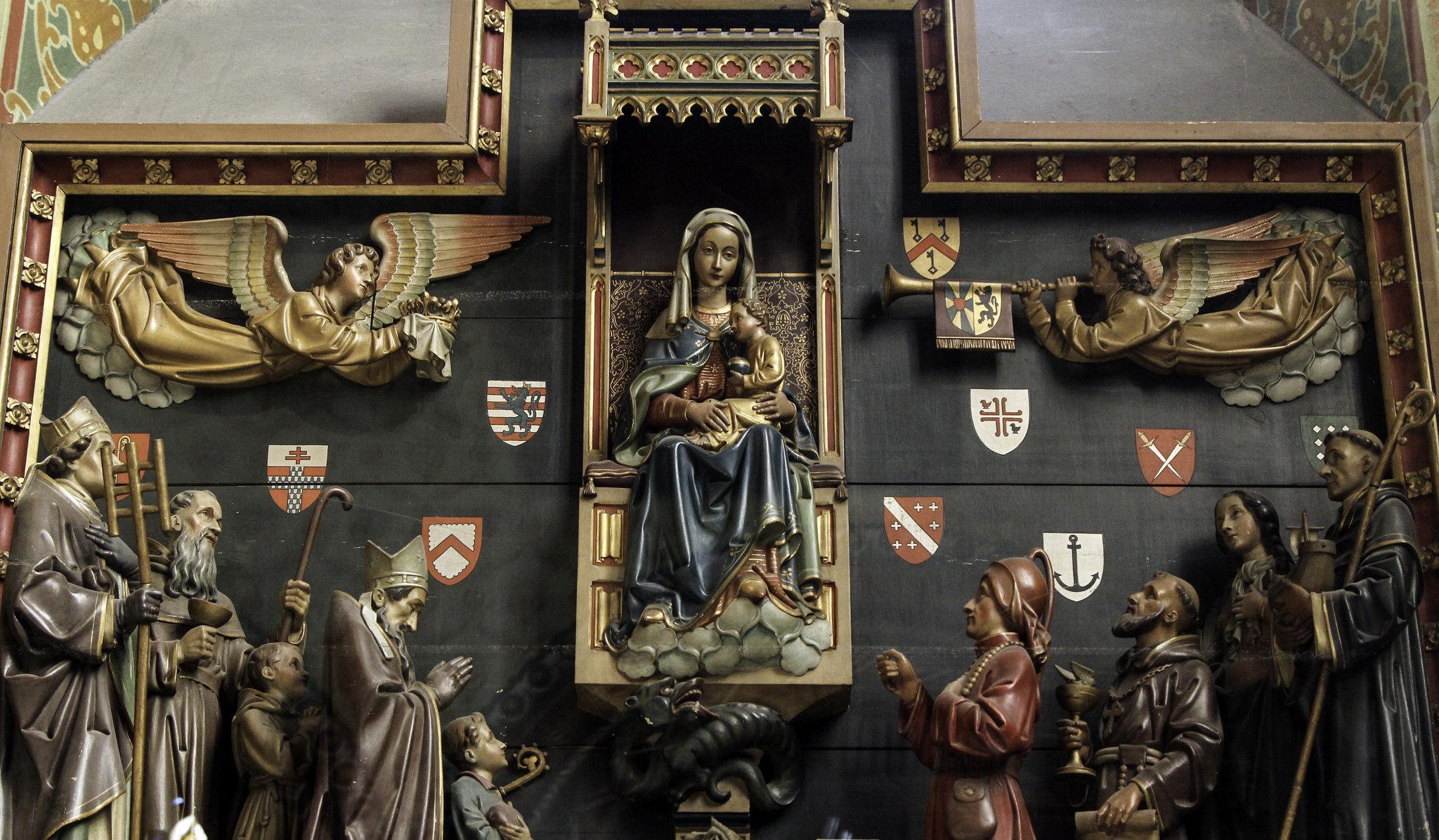 Zjevení, Panna Marie, křesťanství, náboženství, kaple, anděl (foto Lawrence OP)