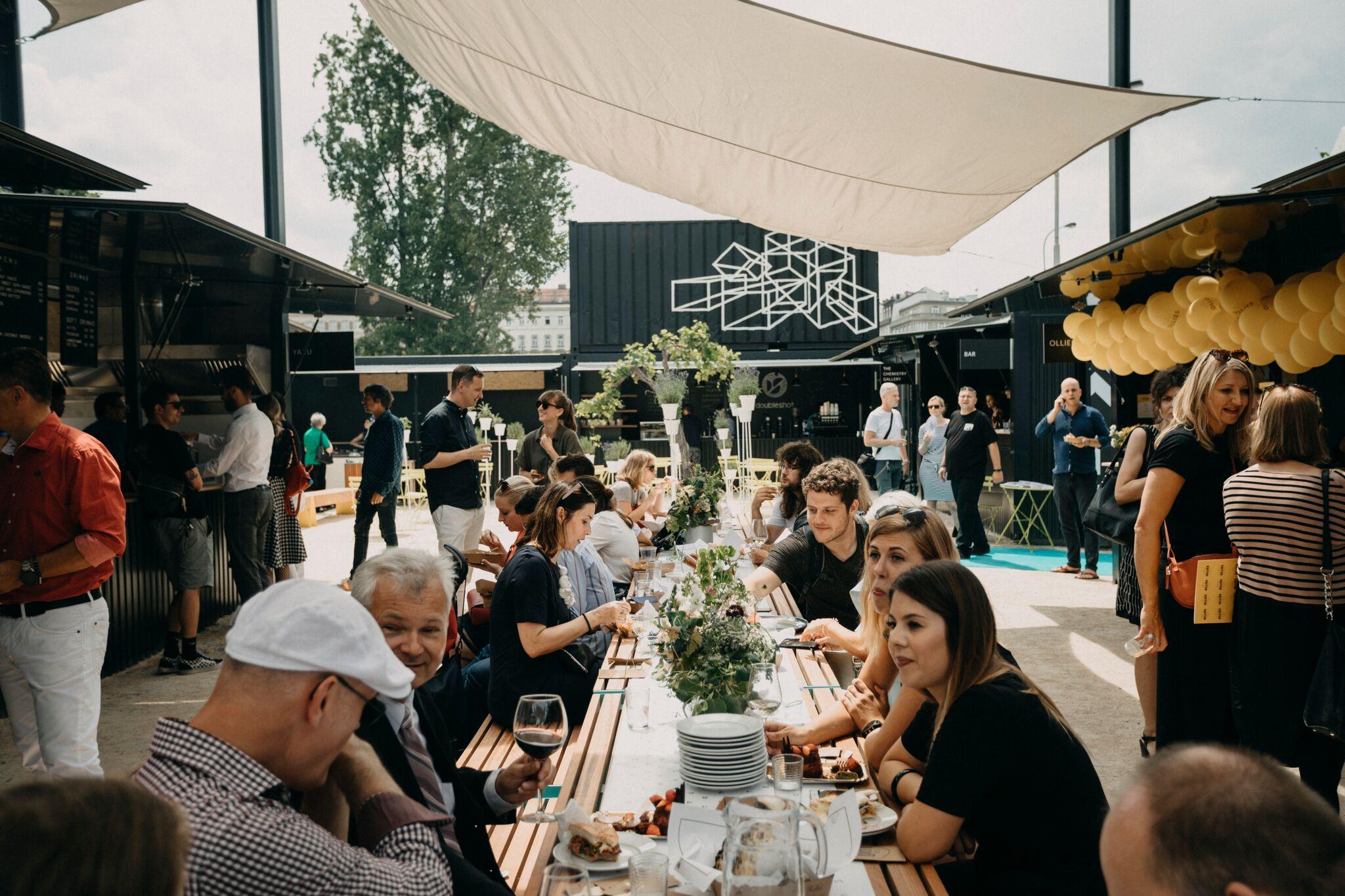 Manifesto, gastronomický pop-up market