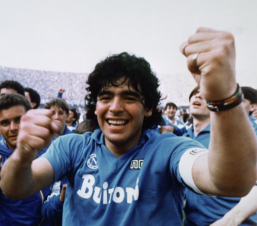Z dokumentu Diego Maradona