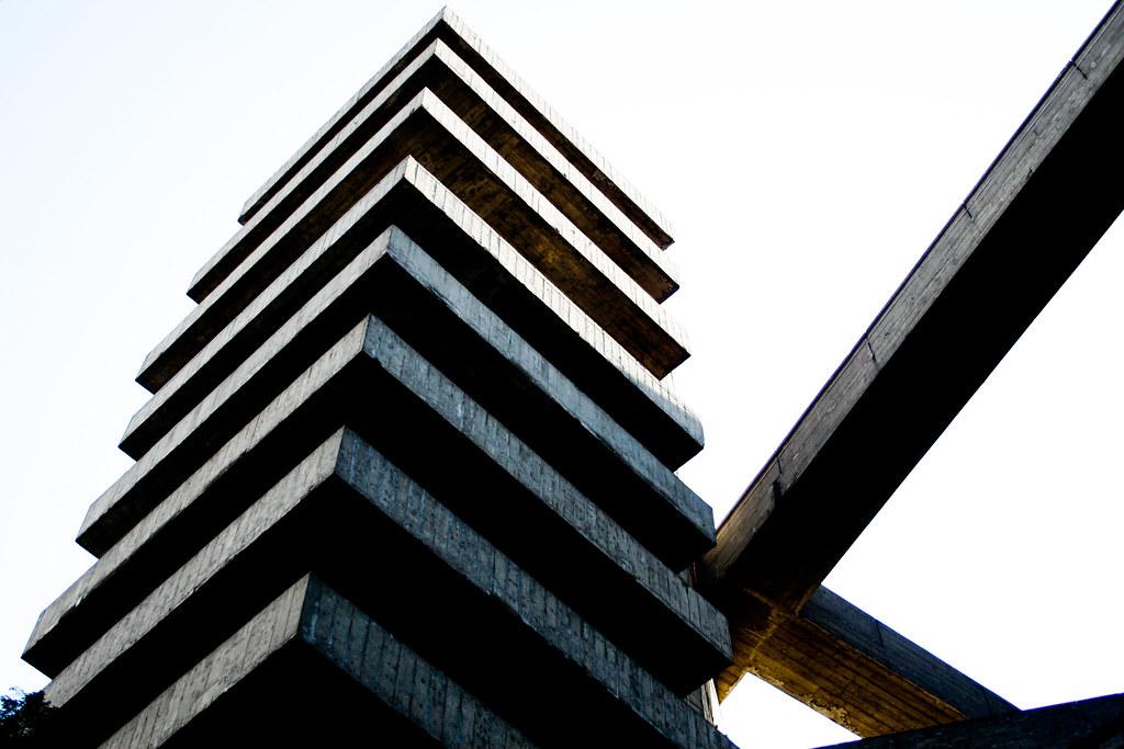 SESC Pompeia od brazilské architekty Liny Bo Bardi z osmdesátých let