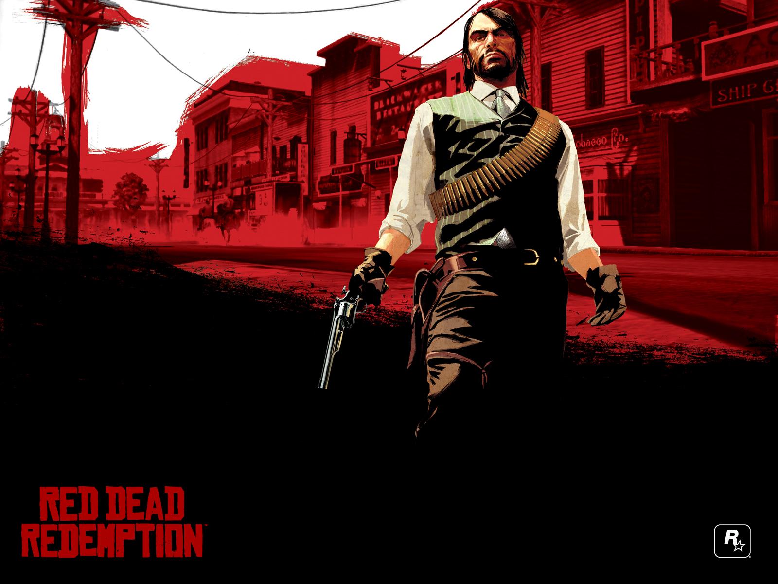 Wallpaper ke hře Red Dead Redemption 2