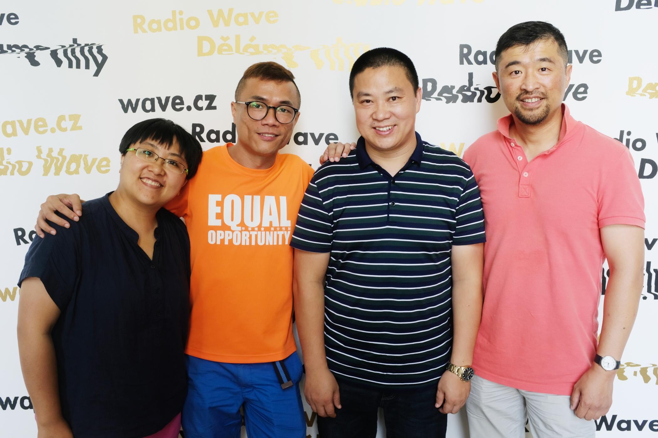 LGBT aktivisté z Asie