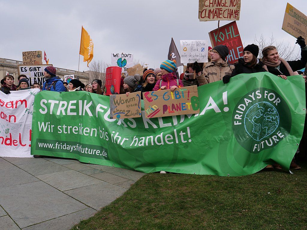 Fridays for Future v Berlíně