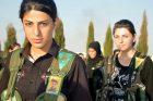 Bojovnice kurdských socialistických milic YPJ