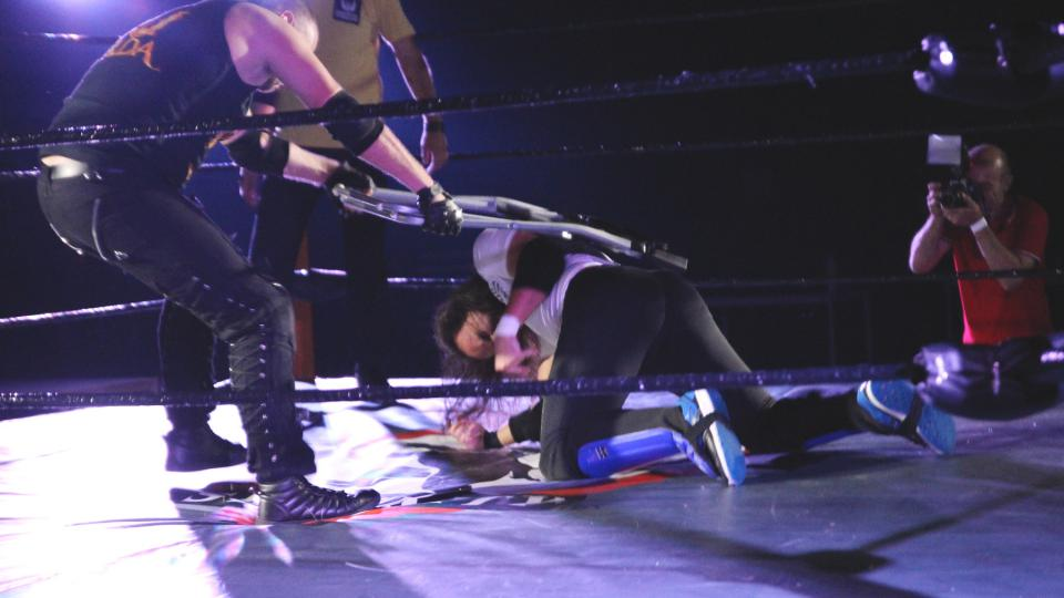 Wrestlingová MegaShow v žižkovské hale TJ Spoje