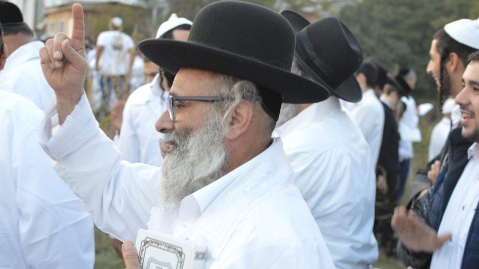 Do středoukrajinské Umani se sjely desítky tisíc chasidských Židů, aby oslavily svátek Roš ha-šana, tedy židovský Nový rok