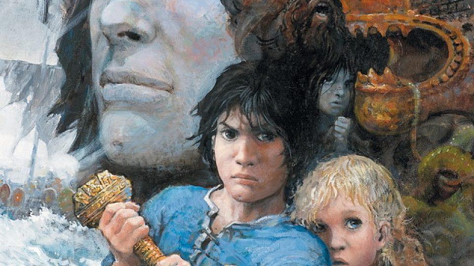 Z knihy Thorgal: Dítě z hvězd