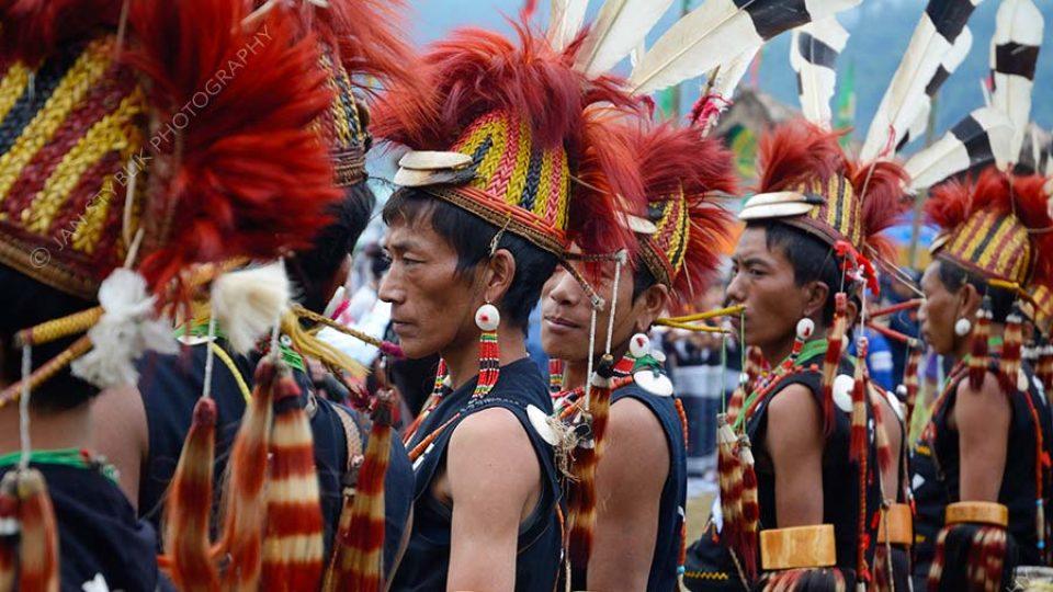 Slavnost Nagů, severní Barma