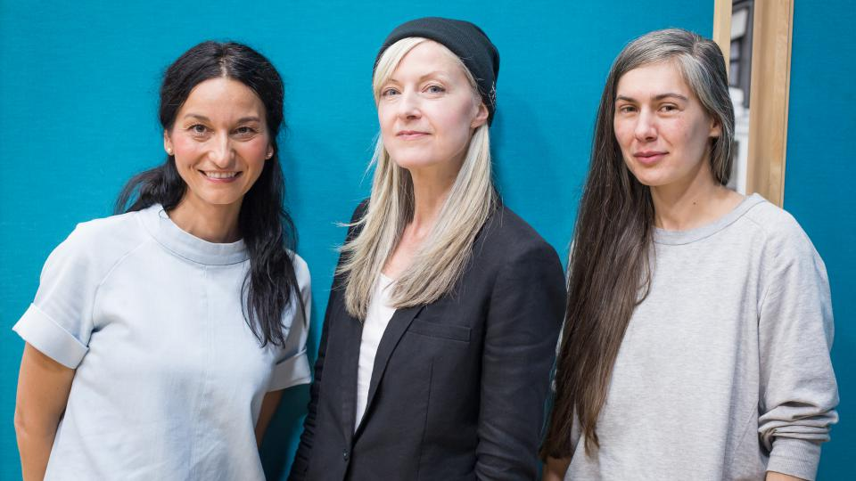 Iva Jonášová, Mary Anne Hobbs a Mary C na Czechingu 2017