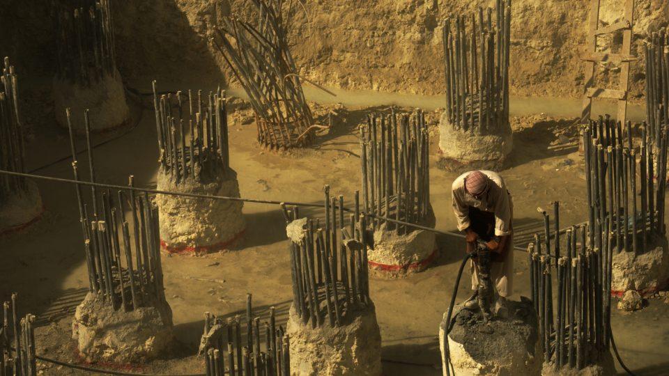 Dělníci v Doha