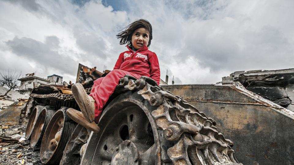Jak být zároveň matkou a válečnou reportérkou v Sýrii?