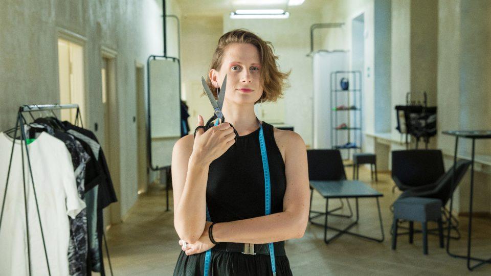 Jedna z ambasadorek projektu Přišij knoflík Hana Frišonsová