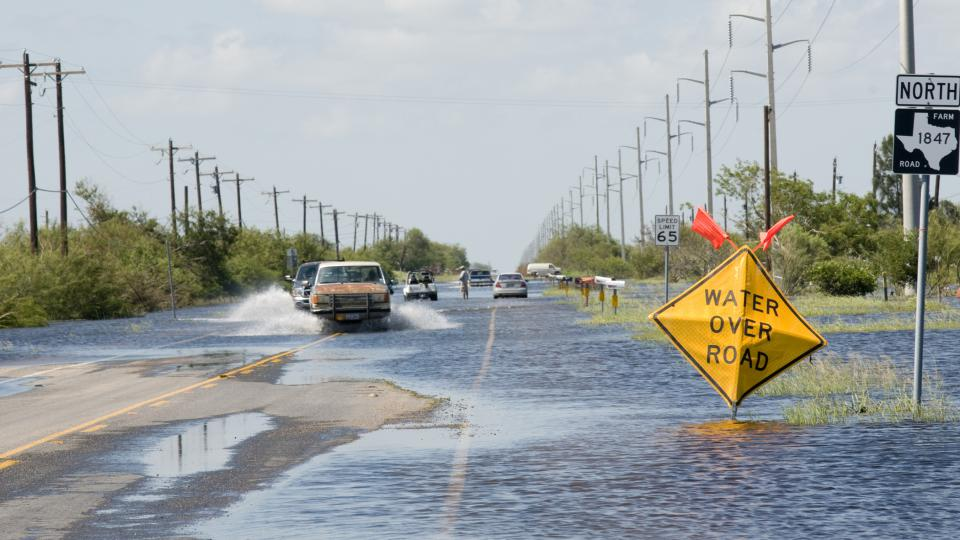 Záplavy po hurikánu Harvey v Texasu