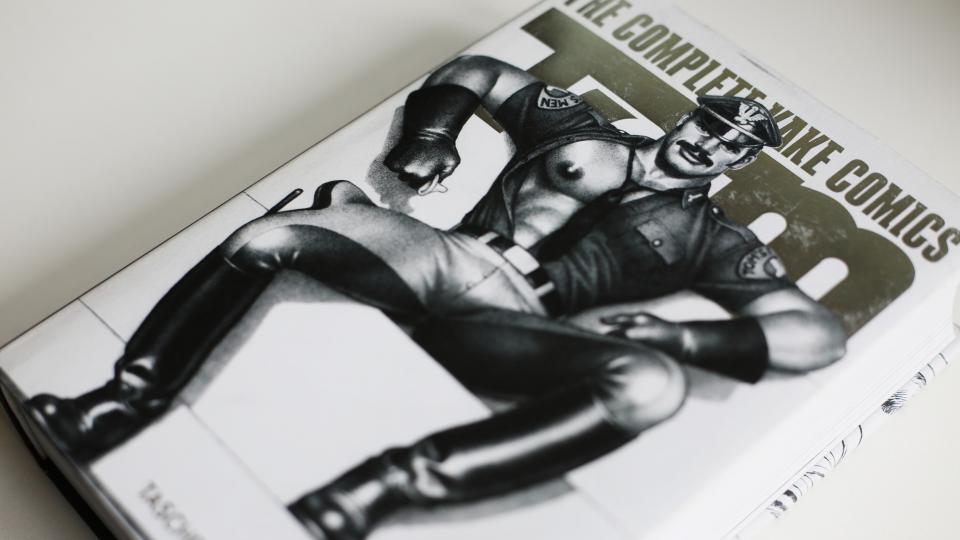 Přebal knihy Tom of Finland, The Complete Kake Comics