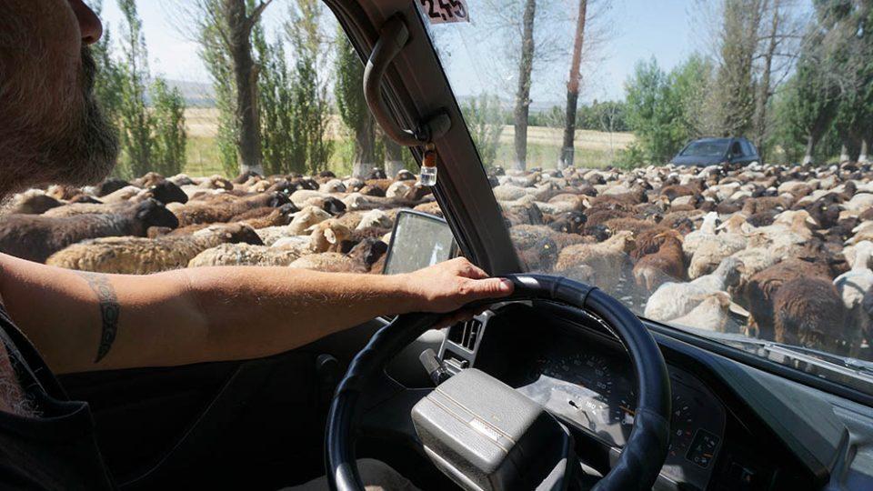 Dopravní situace v Kyrgyzstánu