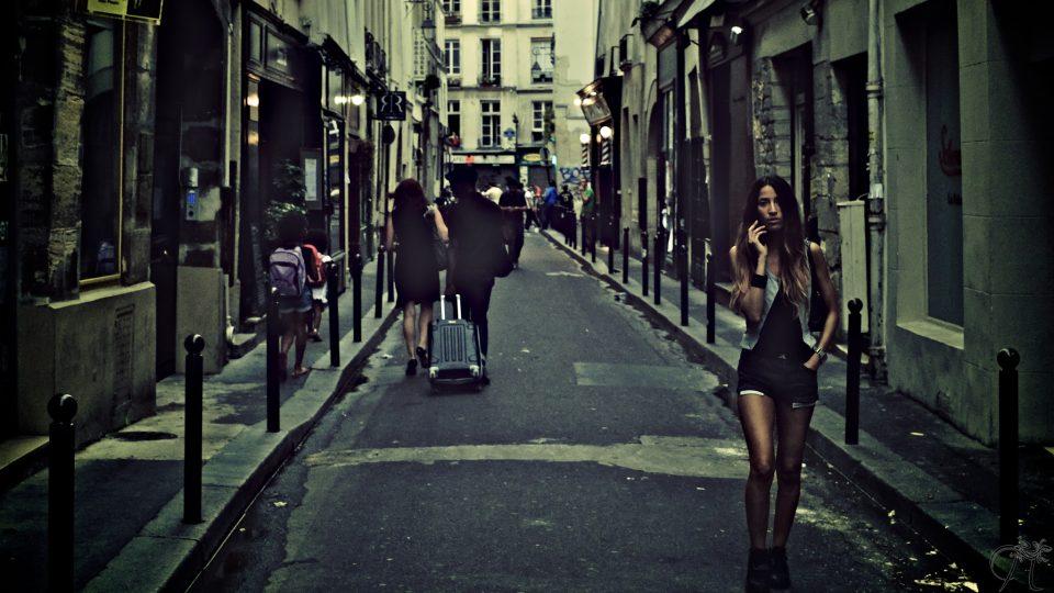 Ulice Paříže