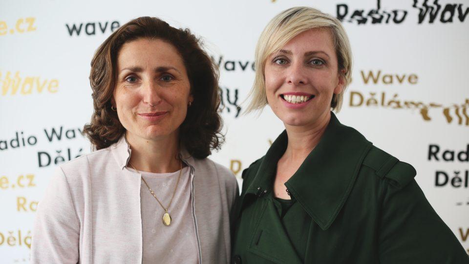 Hana Schenková a Tereza Porybná