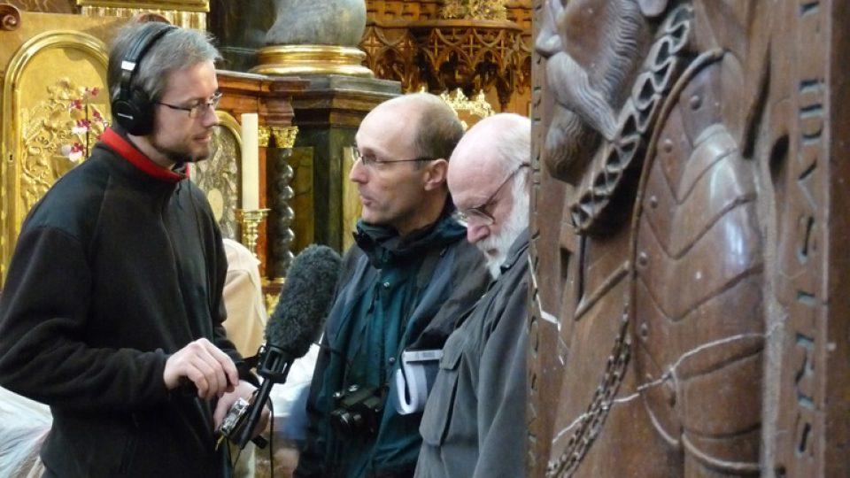 Čeští členové mezinárodního výzkumného týmu Jaroslav Podliska a Zdeněk Dragoun v rozhovoru s ČRo Leonardo