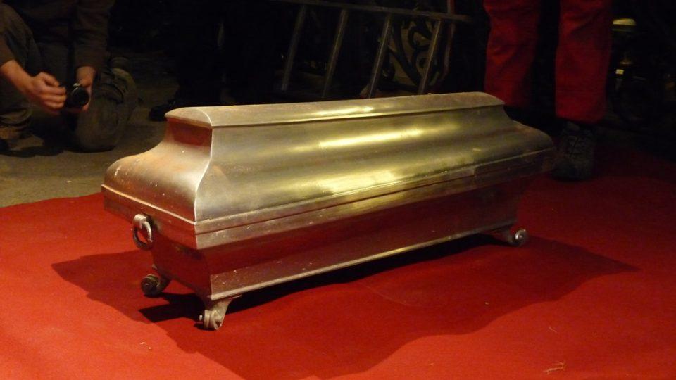 Cínová rakev Tychona Braha