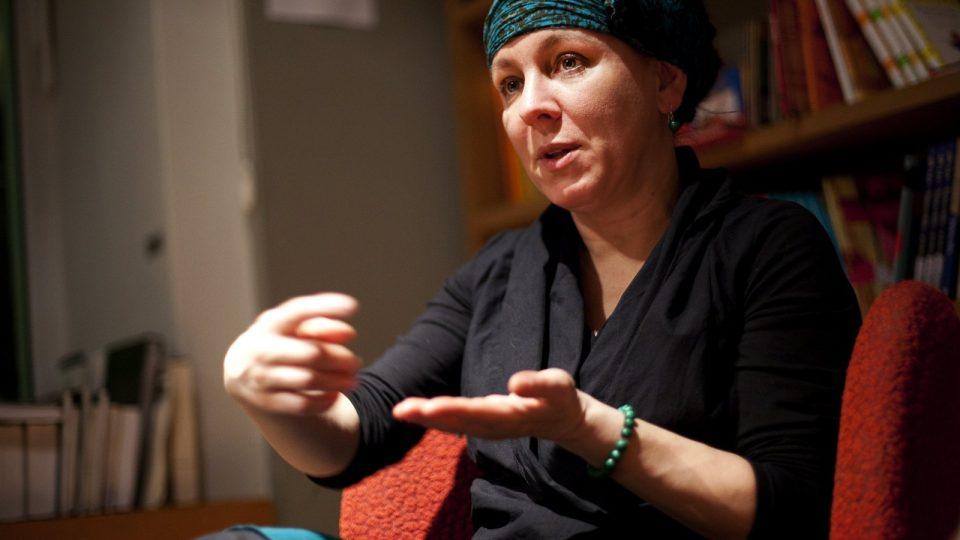 Polská spisovatelka Olga Tokarczuková