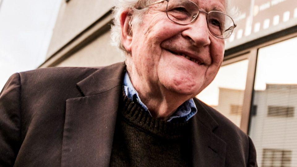 Noam Chomsky v Olomouci