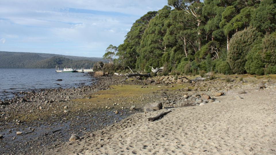 Jezero St. Clair, Tasmanie