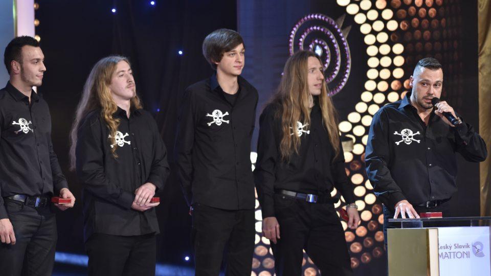 Kapela Ortel získala druhé místo