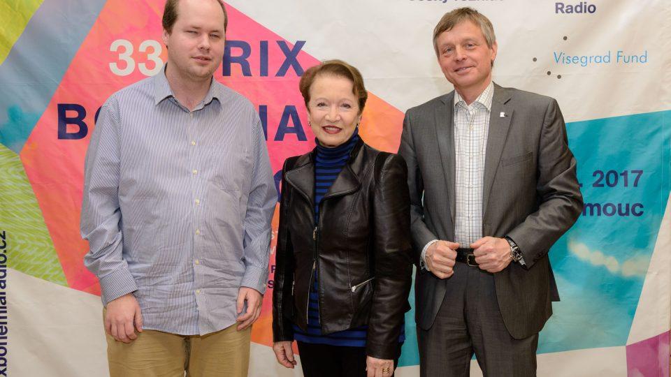 Tisková konference k 33. ročníku festivalu Prix Bohemia Radio