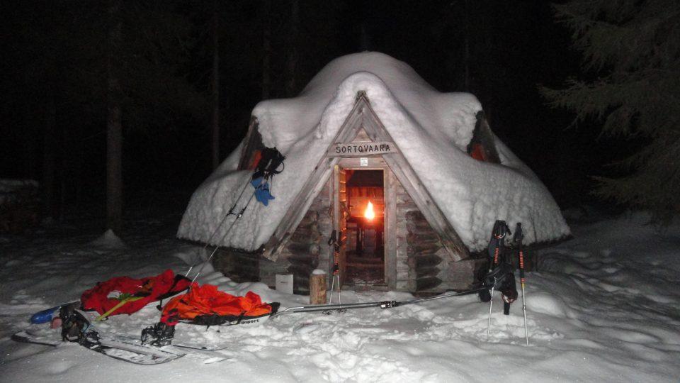 Peggy Marvanová a její přítel Adam Záviška jako první lidé na světě dokončili extrémní závod v Laponsku