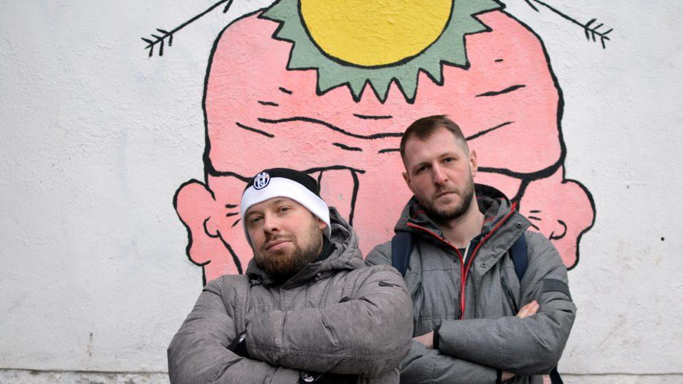 Běloruští rappeři Zeman a Angst