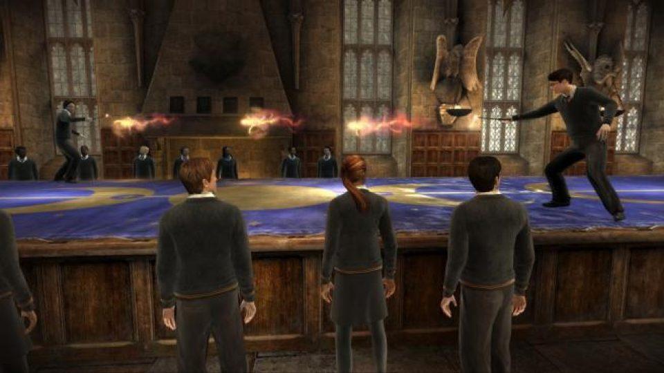 Ze hry Harry Potter a Princ dvojí krve