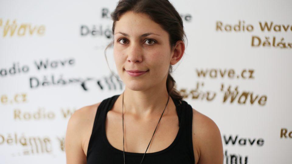 Sklářka Zuzana Kubelková