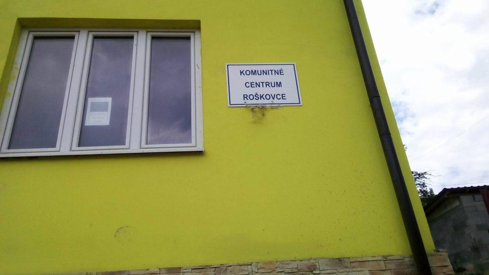 Komunitní centrum v Roškovcích funguje už od roku 2006 jako nejstarší na Slovensku