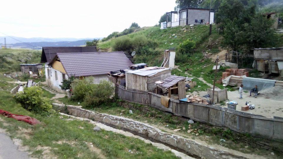 Źivotní podmínky v romské osadě podle prezidenta Kisky nepatří na SLovensko 21. století