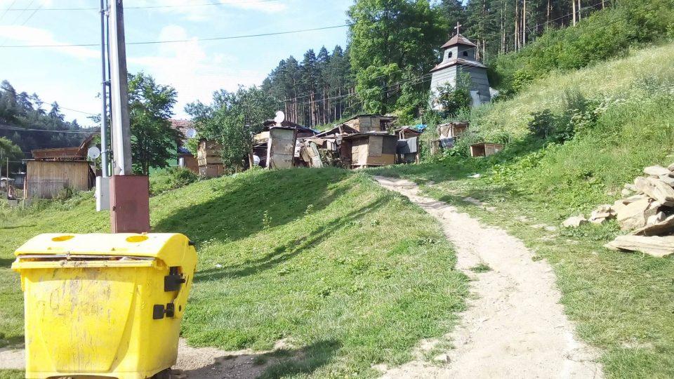Romská osada Roškovce