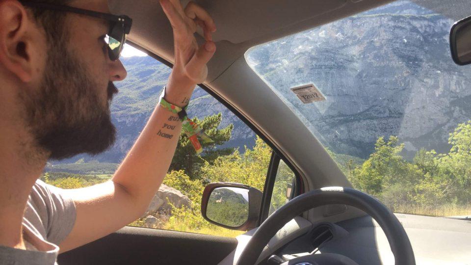 Z roadtripu do Itálie