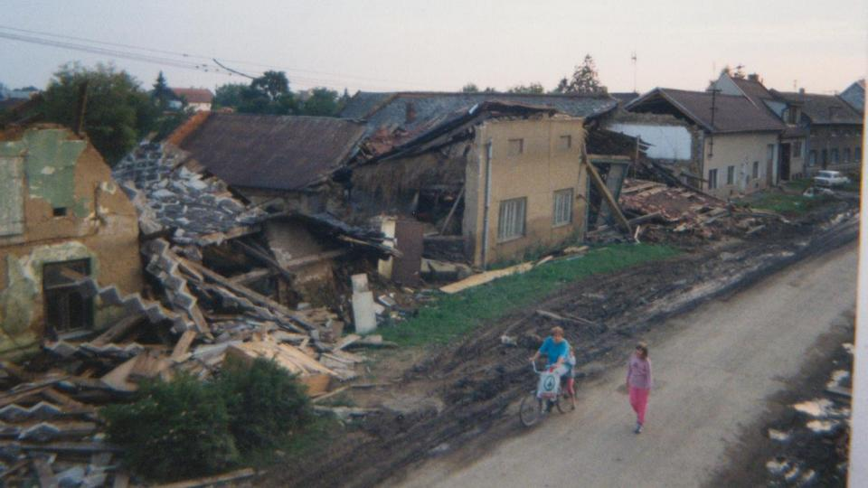 Troubky po povodni 1997