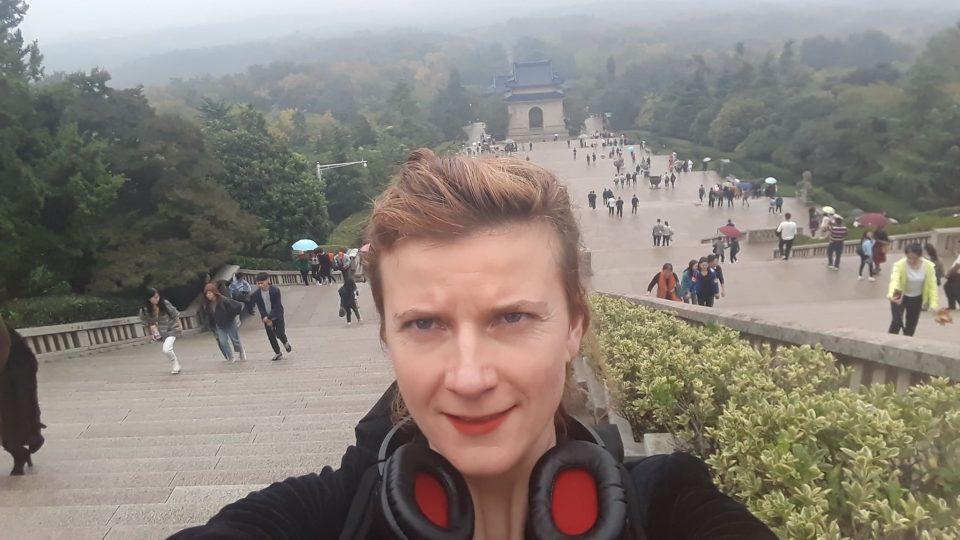 Anita v Nankingu
