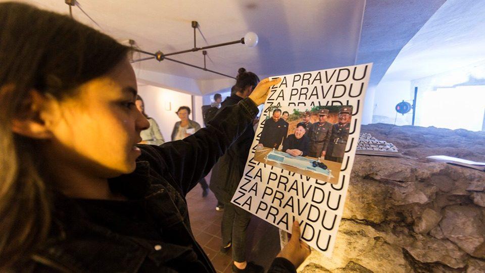Výstava Za pravdu v Betlémské kapli odkazuje na Jana Husa a sametovou revoluci
