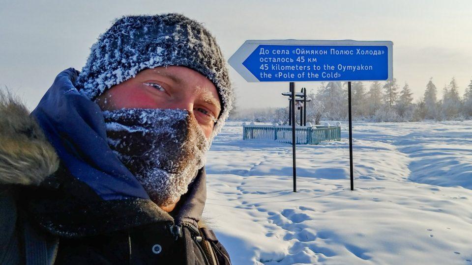 Stopem na Ojmjakon, nejchladnější místo zeměkoule